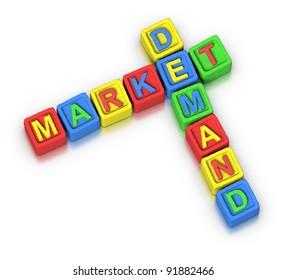 Crossword Puzzle : MARKET DEMAND