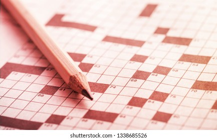Crossword Puzzle Images Stock Photos Vectors Shutterstock