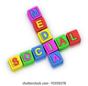 Crossword Puzzle : SOCIAL MEDIA