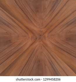 crotch mahogany veneer background, exotic and bright brown wood grain with abstract burst pattern
