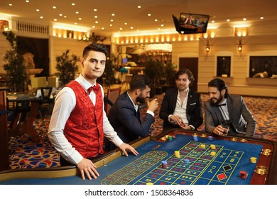 Croupier High Res Stock Images Shutterstock