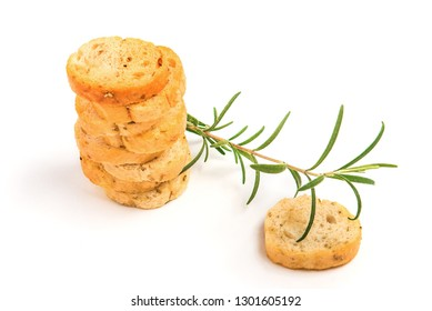 croutons with rosemary