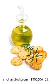 croutons with rosemary and olive oil