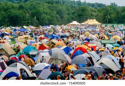 Woodstock Stage Images, Stock Photos & Vectors | Shutterstock