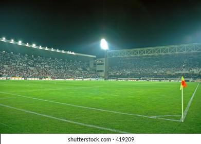 Crowded Stadium at Guimaraes
