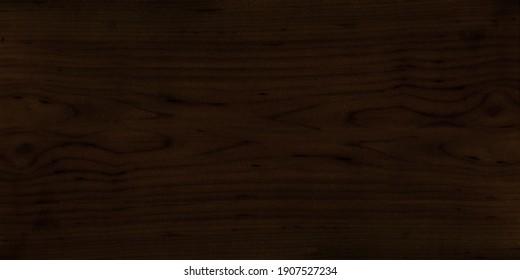 Crown cut dark brown wood veneer wide screen