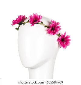 Crown of flowers for girl