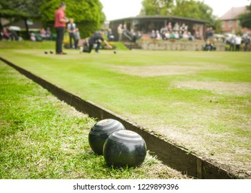 Crown Green Bowling green and club house- a popular and social sport played  across the UK