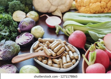 cruciferous vegetables capsules, dietary supplements for healthy