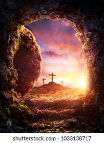 Crucifixion And Resurrection Of Jesus Christ