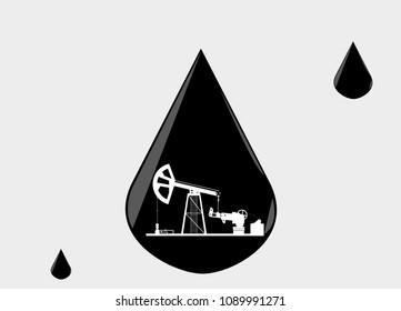Crude Oil Drop