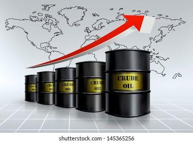 crude oil growing
