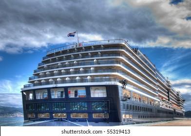 Cruise at the port of Vigo