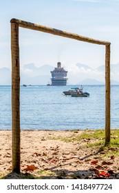cruise ship Costa Favolosa in Brasil, Ilha grande Rio de janeiro