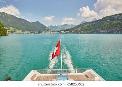 cruise ship lake lucerne