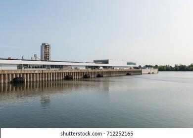 Cruise ship terminal, Montreal, Quebec, Canada