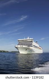 cruise-ship at sea