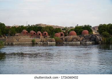 Cruising the magical Nile River, Aswan, Egypt