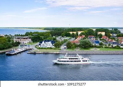 Cruising on Norwegian Fjord, Kristiansand, July 2017