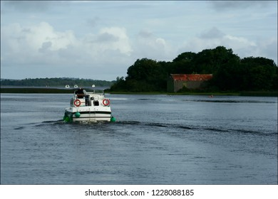 Cruising on the Shannon River in Athlone, Ireland