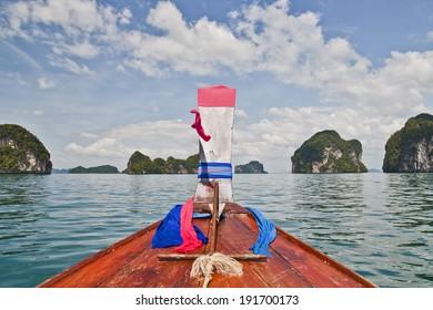 Cruising to paradise