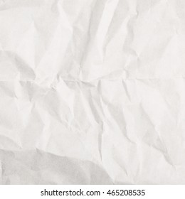 Crumbled paper sheet as a backdrop background composition texture