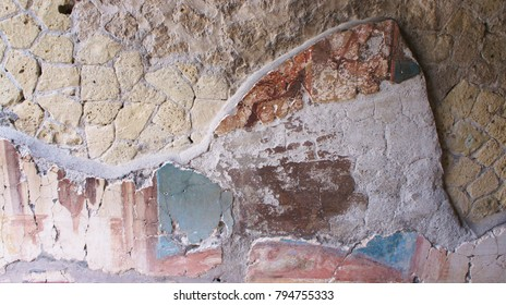 Crumbling Fresco Wall