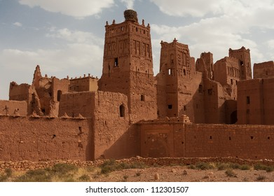 A crumbling kasbah in Morocco
