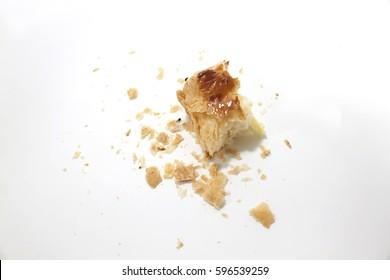 Crumbs of bread