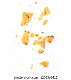 crumbs from nachos