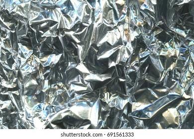 crumpled foil texture background
