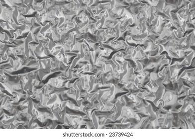 Crumpled metal background