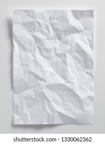 crumpled paper as background