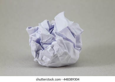 Crumpled paper. The design elements