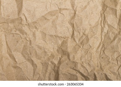 crumpled paper on the white background
