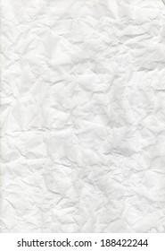 Crumpled paper texture.