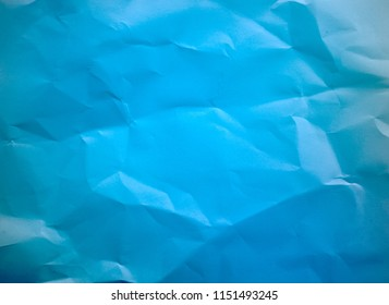 Crumpled paper texture background.