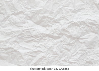 Crumpled paper ,Texture Background