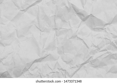 Crumpled paper texture, background from paper for designers.