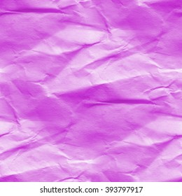 crumpled purple paper texture - abstract seamless background