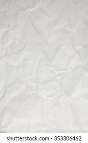 Crumpled recycle paper background.