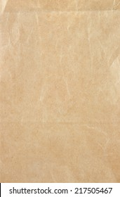 Crumpled recycle Paper texture - brown paper sheet.