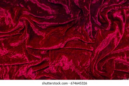 crushed red velvet texture. Delighful Velvet A Crumpled Red Crushed Velvety Fabric Intended Crushed Red Velvet Texture