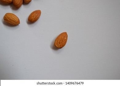 crunchy, brown, nutty almond nuts