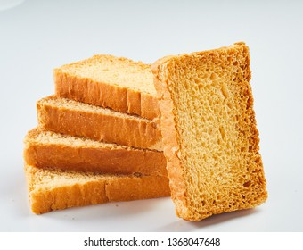 Crunchy Rusk or Toast for healthy life.