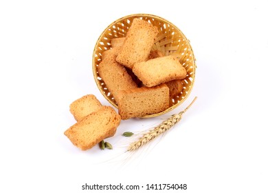 Crunchy Rusk or Toast for healthy life. - Image