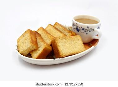 crunchy toast, crispy rusk, roasted bread