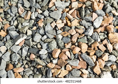 crushed granite background