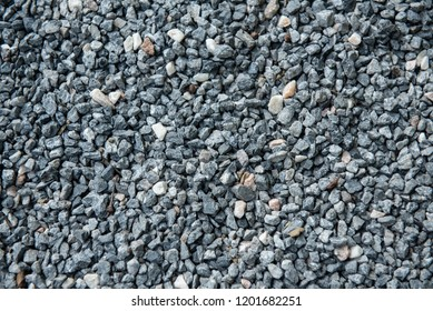 Crushed gravel texture
