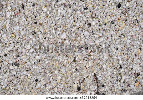 Crushed Oyster Shells Road Stock Photo Edit Now 639218254